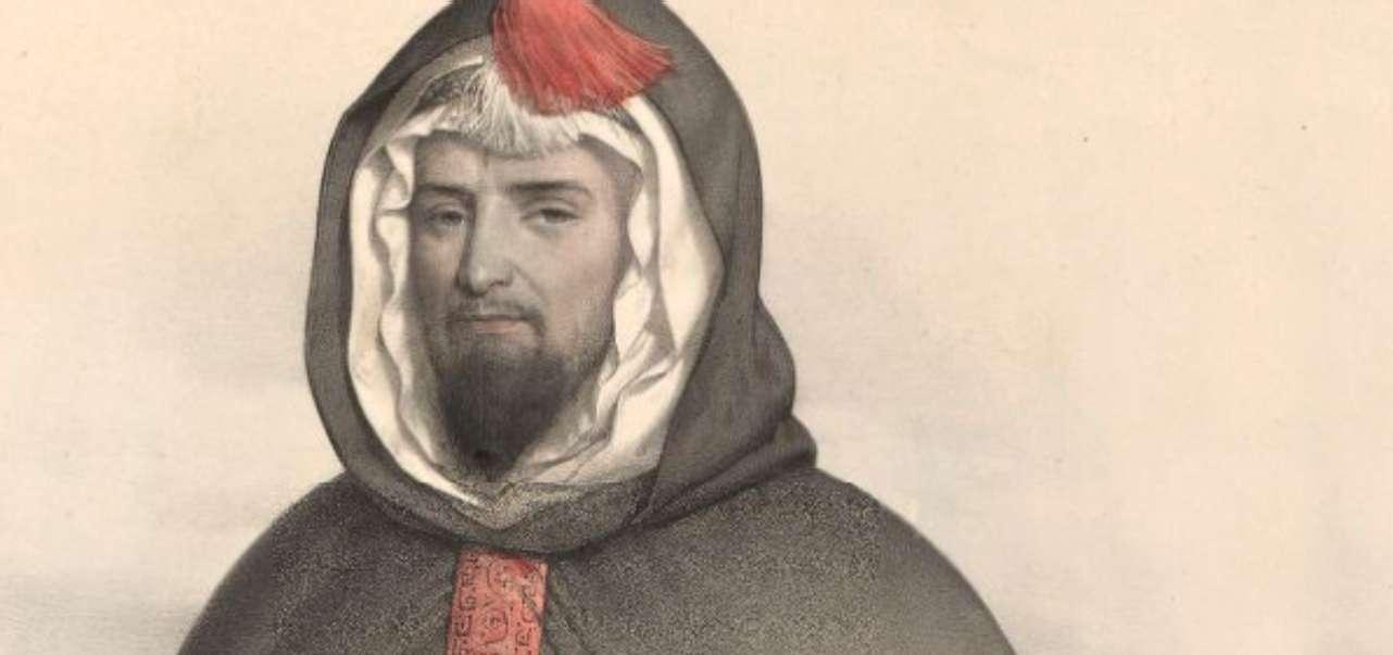 Portrait d'Abd-el-Kader